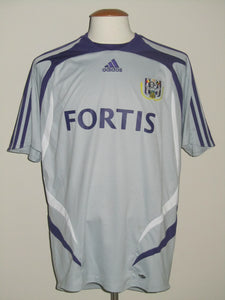 RSC Anderlecht 2007-08 Away shirt #8 Jan Polak