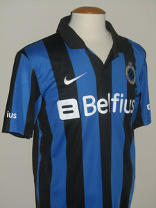 Club Brugge 2013-14 Home shirt MATCH ISSUED/WORN #16 Maxime Lestienne