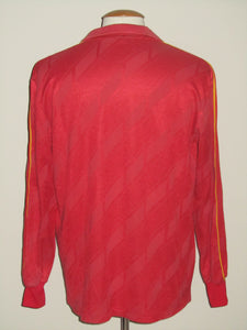 Rode Duivels 1986-89 Home shirt L/S