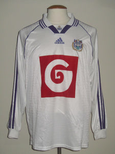 RSC Anderlecht 1998-99 Home shirt PLAYER ISSUE L/S #4