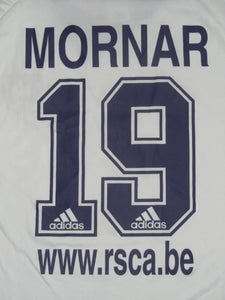RSC Anderlecht 2001-02 Home shirt #19 Ivica Mornar