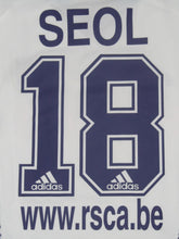 Load image into Gallery viewer, RSC Anderlecht 2002-03 Home shirt #28 Ki-hyeon Seol