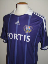 Load image into Gallery viewer, RSC Anderlecht 2008-09 Home shirt #30 Guillaume Gillet