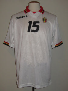 Rode Duivels 1996-97 Away shirt MATCH ISSUE/WORN #15