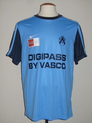 Kortrijk KV 2009-10 Away shirt MATCH ISSUE/WORN David Vandenbroeck #2