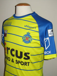 Waasland Beveren 2018-19 Home shirt MATCH ISSUE/WORN #18 Oscar Threlkeld