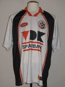 SK Deinze 2001-02 Away shirt MATCH WORN/ISSUE #15