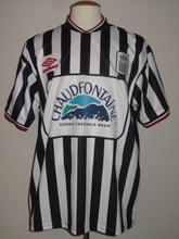 Load image into Gallery viewer, RSC Charleroi 2000-01 Home shirt #10 Enzo Scifo
