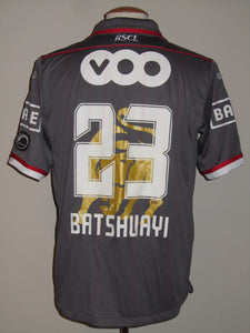 "Standard Luik 2013-14 Away shirt MATCH WORN ""GOLDEN BULL"" #23 Michy Batshuayi"