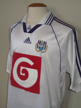 Load image into Gallery viewer, RSC Anderlecht 1998-99 Home shirt #6 Lorenzo Staelens