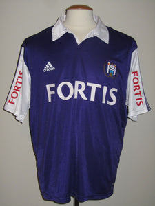 RSC Anderlecht 2003-04 Away shirt MATCH WORN #22 Oleg Iachtchouk