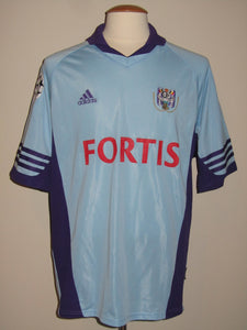 RSC Anderlecht 2001-02 Away shirt MATCH ISSUE Champions League #37 Ngalula Mbuyi