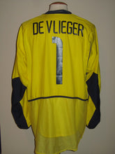 Load image into Gallery viewer, Rode Duivels 2002 WK GK shirt MATCH ISSUE/WORN #1 Geert De Vlieger
