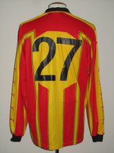 Load image into Gallery viewer, KV Mechelen 2000-01 Home shirt MATCH ISSUE/WORN #27