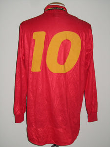 Rode Duivels 1996-97 home shirt MATCH ISSUE/WORN #10