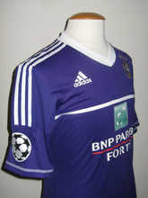 Load image into Gallery viewer, RSC Anderlecht 2012-13 Home shirt Champ. League MATCH ISSUE/WORN #20 Behrang Safari