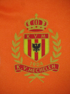 KV Mechelen 2017-18 Homeless Cup shirt MATCH PREPARED #35 Silvère Ganvoula vs KSC Lokeren