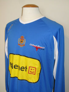 KV Mechelen 2009-10 Keeper shirt MATCH ISSUE #12 Jeremy De Vriendt