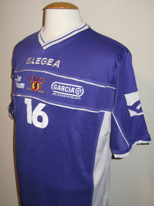 Germinal Beerschot 2005-06 Training shirt player issue #16