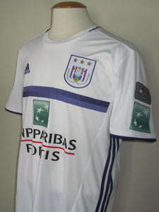 RSC Anderlecht 2016-17 Away shirt MATCH WORN #4 Kara Mbodj