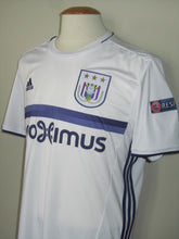 Load image into Gallery viewer, RSC Anderlecht 2016-17 Away shirt MATCH ISSUE/WORN Europa League #4 Kara Mbodj vs FSV Mainz 05