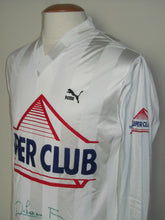 Load image into Gallery viewer, Royal Antwerp FC 1988-89 Away shirt MATCH ISSUE/WORN #3 Franky Dekenne