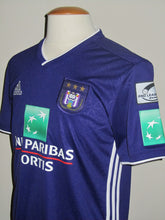 Load image into Gallery viewer, RSC Anderlecht 2018-19 Home shirt MATCH ISSUE/WORN #25 Adrien Trebel