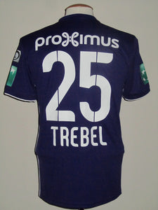 RSC Anderlecht 2018-19 Home shirt MATCH ISSUE/WORN #25 Adrien Trebel