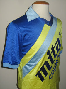 KSK Beveren 1984-85 Home shirt MATCH ISSUE/WORN #4 Paul Lambrichts