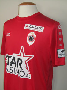 Royal Antwerp FC 2017-18 Home shirt MATCH ISSUE/WORN #60 Sambou Yatabaré