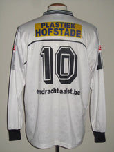Load image into Gallery viewer, Eendracht Aalst 2004-05 Home shirt MATCH ISSUE/WORN #10