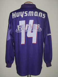 Germinal Beerschot 2000-01 Home shirt MATCH ISSUE/WORN #14 Dirk Huysmans