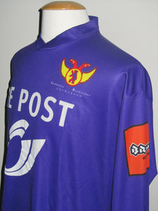 Germinal Beerschot 2002-03 Home shirt MATCH ISSUE/WORN #22 Kenny Thompson