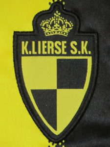 Lierse SK 2011-12 Home shirt MATCH ISSUE/WORN #33 Milos Maric