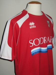 Royal Excel Mouscron 2009-10 Home shirt MATCH ISSUE/WORN #22 Alexandre Teklak