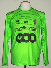 Load image into Gallery viewer, RCS Charleroi 2009-10 Away shirt MATCH ISSUE/WORN #10 Geoffrey Mujangi Bia