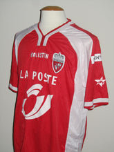 Load image into Gallery viewer, Royal Excel Mouscron 2002-03 Home shirt MATCH ISSUE/WORN #14 Claude Bakadal