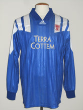 Load image into Gallery viewer, KSV Waregem 1993-94 Away shirt MATCH ISSUE/WORN vs FC Kuusysi Lahti #10