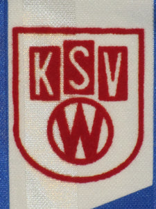 KSV Waregem 1993-94 Away shirt MATCH ISSUE/WORN vs FC Kuusysi Lahti #10