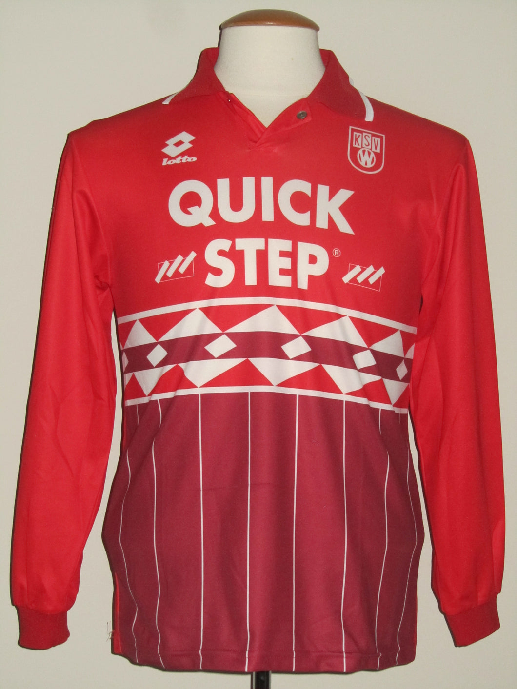 KSV Waregem 1995-96 Home shirt BOYS-152 #10