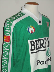 KSV Waregem 1996-97 Away shirt MATCH ISSUE/WORN #17 Harold Deglas