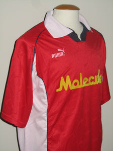 KSV Waregem 2000-01 Home shirt MATCH ISSUE/WORN #17