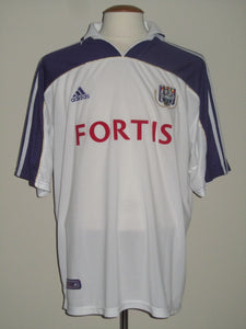 RSC Anderlecht 2000-01 Home shirt XL #8