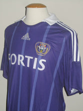 Load image into Gallery viewer, RSC Anderlecht 2008-09 Home shirt #9 Matías Suárez