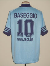 Load image into Gallery viewer, RSC Anderlecht 2001-02 Away shirt #10 Walter Baseggio