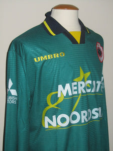 Royal Antwerp FC 1997-98 Away shirt MATCH ISSUE/WORN #22 Antonio Acosta