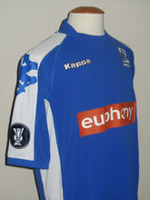 Load image into Gallery viewer, KRC Genk 2005-06 Home shirt MATCH ISSUE/WORN UEFA Cup #19 Bob Peeters vs Litex Lovetsj