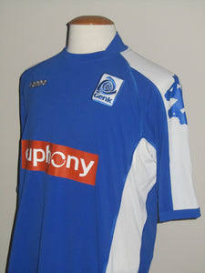 KRC Genk 2005-06 Home shirt MATCH ISSUE/WORN UEFA Cup #19 Bob Peeters vs Litex Lovetsj