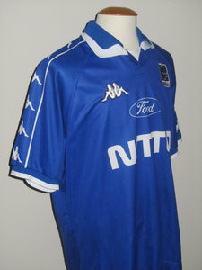 KRC Genk 1999-00 Home shirt MATCH ISSUE/WORN #15 Josip Skoko