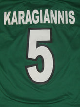 Load image into Gallery viewer, RAAL La Louvière 2001-02 Home shirt MATCH ISSUE/WORN #5 Manu Karagiannis